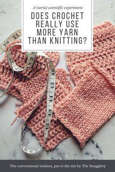 Does Crochet Use More Yarn Than Knitting?