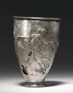 The Vicarello Goblet Roman c. Late 1st Century B.C. - Early 1st Century A.D.