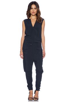 Love a jumpsuit for day or night. Spencer's is from G Star | Pretty Little Liars
