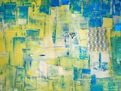 """""""Copacabana Essa Semana I"""" Acrylic, Mixed Media on Canvas"""
