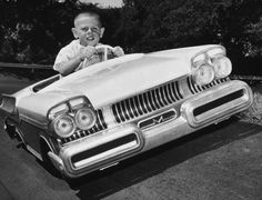 1957 Mercury Pedal Car