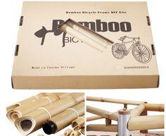 Bamboobee, o cómo construir tu propia bicicleta de bambú