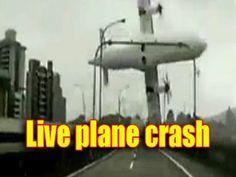 Live Aircraft Crash Real (unbelievable video)
