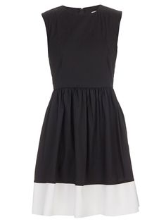 Ashby Dress Black/White_adam & eve