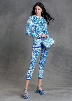 Dolce Gabbana Pre-Fall 2015 Majolica inspired looks. 4140d330793