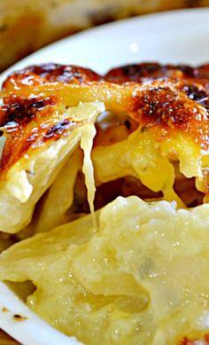 Cheesy Artichoke Potato Casserole Recipe