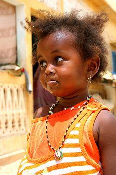 Africa |  People.  Fulani Girl , Senegal