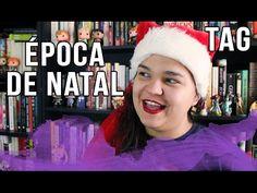 Hoje tenho uma TAG nova que eu mesma criei: Época de NATAL! Aproveitando o espírito natalino esse tag tem 6 perguntas e sintam-se convidados a responder \o/  PERGUNTAS: 1. Um livro com a cara do Natal? 2. Se tivéssemos inverno (na época do Natal) no Brasil qual livro você gostaria de ler todo empacotado na cama? 3. Escolha três livros que se pudesse usaria como enfeite na árvore de tão lindos que são 4. Um livro de amigo secreto - aquele que você não esperava gostar ou nunca ouviu falar e…