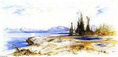 Yellowstone Lake - (Thomas Moran)