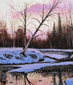 Là Dove Nasce il Fiume - Acrilico su Tela 50x60 - 2016 Where There River Born - Acrylic on Canvas - 50x60cm - 2016
