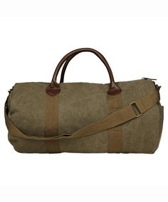 HIT THE ROAD DUFFLE BAG ARMY GREEN | Bags | Accessories | Shop Mens | General Pants Online