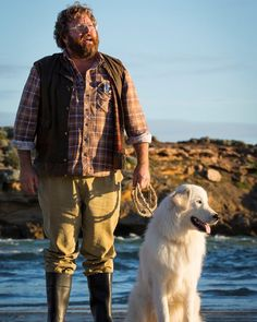 Catch our Ambassador #shanejacobs and this superstar canine in Oddball !  #oddball #madeinmelbourne by docklands_studios