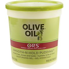 Idk what it is about this stuff but I'm finding it to be a must have. Good for edges, twists, and also cheap.    Organic Root Stimulator Olive Oil Smooth-n-Hold Pudding // Repin from @Alexandra Greaux