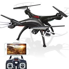 Original SYMA X5SW Quadrocopter 2.4GHz 4CH 6Axis drone with 2MP HD Camera Quadcopter WIFI FPV real-time transmission 2015 – $70.54