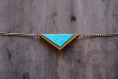 Recycled Skateboard Jewelry | Mini Tremont Necklace