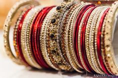 indian wedding bridal jewelry traditional bangles accessories indian Ontario, California Indian Wedding by RANDERYimagery Bridal Bangles, Bridal Bracelet, Wedding Jewelry, Indian Accessories, Bridal Accessories, Indian Bridal Fashion, Bangle Set, Wrap, Indian Jewelry