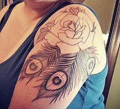 My #peacocktattoo before colour By Josh at High Tides Tattoo in Saint John