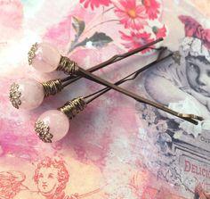 Decorative hair pin wedding hair clip women hair accessories pink bohemian…