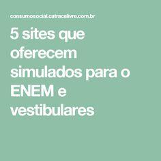 5 sites que oferecem simulados para o ENEM e vestibulares