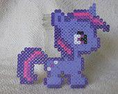 Perler Bead Twilight Sparkle My little Pony