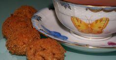 Tisana con biscotti al cocco con zucchero di canna integrale