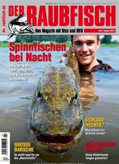Spinnfischen bei Nacht! Gefunden in: Der Raubfisch (Angeln) Nr. 4/2014