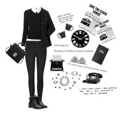 """""""Work."""" by maryamwrites ❤ liked on Polyvore featuring Carven, Forever 21, Alessi and Ceramiche Bucci"""
