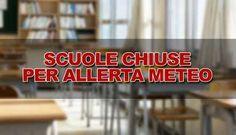 Domani 11 settembre scuole chiuse per allerta meteo - http://www.canalesicilia.it/domani-11-settembre-scuole-chiuse-allerta-meteo/ Allerta Meteo, News, Scuole chiuse