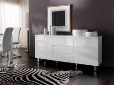 Sophia High Gloss White Sideboard | High Gloss | Pinterest | White Sideboard Part 60