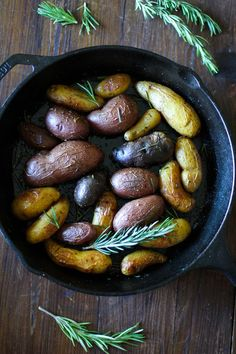 Rosemary Roasted Fingerling Potatoes