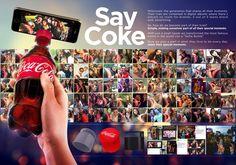 """<p>(21/11/16). Con un simple ajuste en las tapas de Coca Cola, Leo Burnett creó una pestaña que permite sostener cualquier celular para convertir así la botella más famosa del mundo en un """"Selfie Stick"""". Un artículo de costo bajo que todos los teens pueden disfrutar y compartir de manera natural.</p> Los Millennials, Coca Cola, Selfies, Leo, Ads Creative, Concept Board, Advertising Design, Case Study, Digital Marketing"""