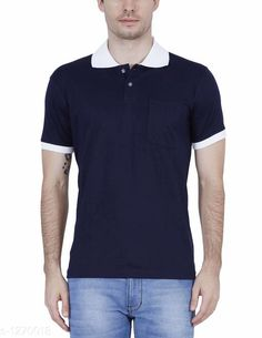Tshirts Elegant Men's Solid Cotton Tshirt Fabric: Cotton Sleeves: Short Sleeves Are Included Size: SM L XL XXL ( Refer Size Chart ) Length- Refer Size Chart Type: Stitched Description: It Has 1 Pieces Of Men's T- Shirt's  Pattern: Solid Country of Origin: India Sizes Available: XS, S, M, L, XL, XXL   Catalog Rating: ★4 (383)  Catalog Name: Everyday Elegant Mens Solid Cotton Tshirts Vol 3 CatalogID_161229 C70-SC1205 Code: 063-1270018-0801