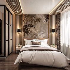 Modern Luxury Bedroom, Master Bedroom Interior, Room Design Bedroom, Luxury Bedroom Design, Modern Master Bedroom, Bedroom Furniture Design, Home Room Design, Luxurious Bedrooms, Home Decor Bedroom