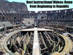 Best Instructional Videos: Rome from Beginning to Republic http://www.educationworld.com/a_lesson/best-instructional-videos/founding-rome.shtml Roman civilization existed for 12 centuries, and from the legend of Romulus and Remus to Romulus Augustus, Education World has collected the best educational videos the Internet has to offer on this topic. #History #HistoryTeacher #Rome