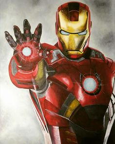 Italian Artist, Iron Man, Artworks, Facebook, People, Painting, Fictional Characters, Iron Men, Painting Art