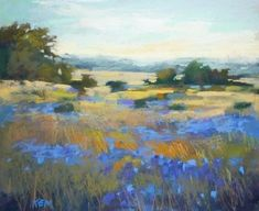 A Tip for Creating Depth in a Landscape Painting, painting by artist Karen Margulis