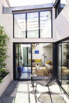 Le loft tout en transparence de L'architecte d'intérieur Santillane de Chanaleilles
