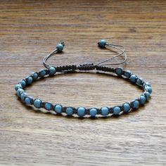 String bracelet for women, Turquoise bracelet, Blue bracelet, Braided bracelet, Beaded bracelet, Grey string bracelet, Bracelet for women Jewelry Dish, Jewelry Shop, Jewelry Making, Braided Bracelets, Gift Bags, Turquoise Bracelet, Grey, Blue, Shopping