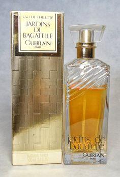 Vintage Guerlain Jardins de Bagatelle Eau de by FragranceWindow