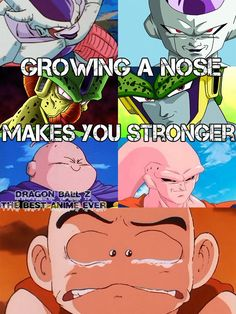 ahahahaah this is epic! #dragonball #nose