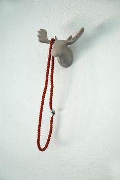 Moose | wall hook   #thezoo #zoo #capventure #dutchdesign #product #JorineOosterhoff #wallhook