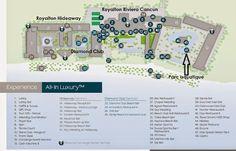 #Map #Royalton Riviera #Cancun