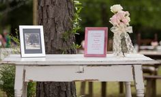 Shabby Chic Accent Table by It's Personal...Wedding Staging and Design