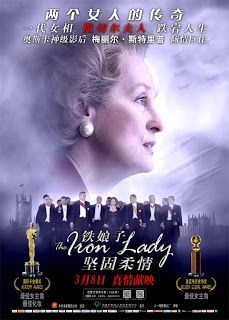 International Women's Day last Friday saw the return of Margaret Thatcher to Beijing as cinemas welcomed the first-time release in China of biopic The Iron Lady starring Oscar-winning actress Meryl Streep.