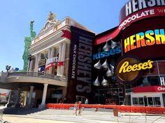 Hershey's sweetens the Las Vegas Strip