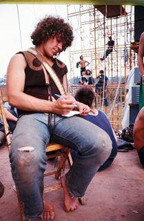 Michael Lang at Woodstock