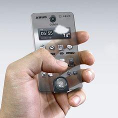 Ik vond deze telefoon er gewoon leuk uit zien, als het natuurlijk maar een concept