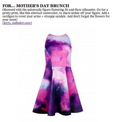 Buy Ted Baker NIM Summer At Dusk Printed Dress, Purple from our Women's Dresses Offers range at John Lewis & Partners. Ted Baker Dress, Purple Dress, Gray Dress, Quoi Porter, Cocktail Attire, Summer Outfits, Summer Dresses, Flare Dress, Style