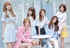 LABOUM - Fresh Adventure - Yujeong + ZN + Yulhee + Haein + Solbin + Soyeon