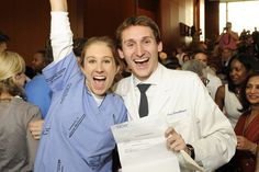 Emory medical students celebrated Match Day, an important rite of passage for all graduating med students in the U.S. Congrats!